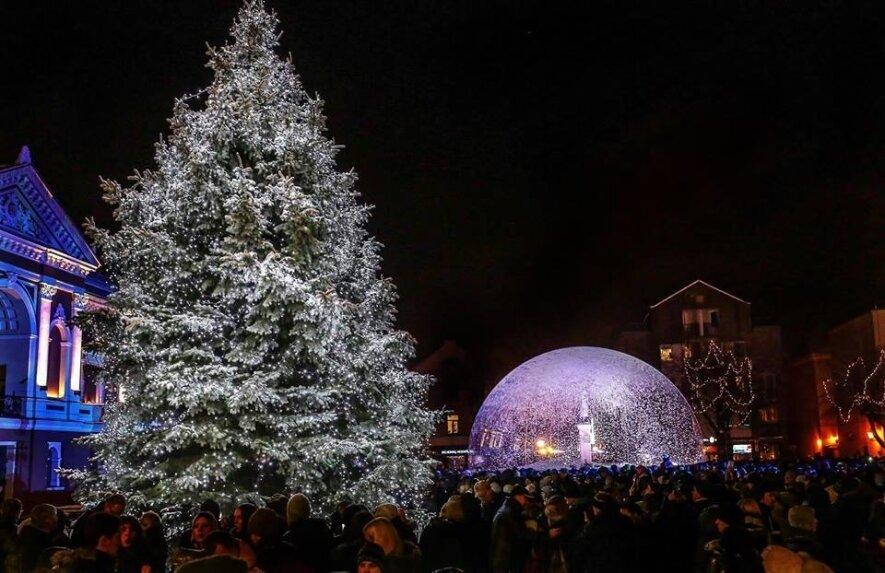 Kalėdų eglutės įžiebimo šventė Klaipėdoje