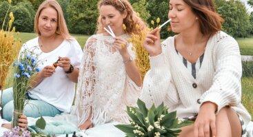"""MERGVAKARIO IDĖJA: """"Aromaterapija - namų kvapų kūrimas ir afrodiziakai"""""""