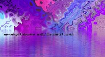 Sąmoningo kvėpavimo sesija su Rasa Rita