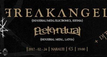 Freakangel ir Preternatural koncertas