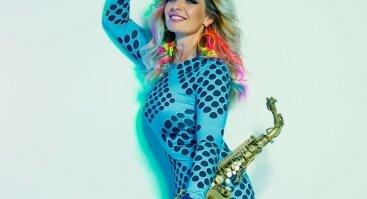 Saksofono diva Candy Dulfer