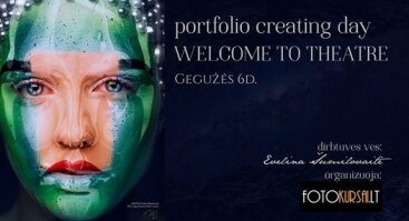 Portfolio creating day Welcome to Theatre