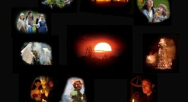 VYTAUTO DARAŠKEVIČIAUS FOTOGRAFIJOS PARODOJE LIETUVIŲ KALENDORINIŲ ŠVENČIŲ TRADICIJOS