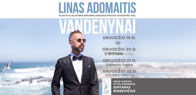"""Linas Adomaitis ir LVSO """"Vandenynai"""""""
