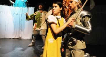 """Keistuolių teatro spektaklis """"Geltonų plytų kelias"""""""