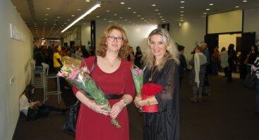 Susitikimas su rašytojomis Gina Viliūne ir Jolita Herlyn