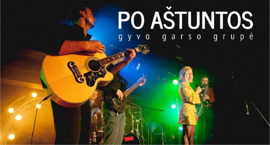Groja gyvos muzikos grupė PO AŠTUNTOS