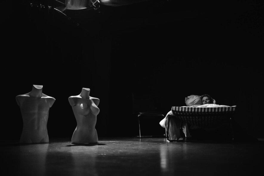 """Improvizacijomis paremta drama """"Pasimetimas"""""""