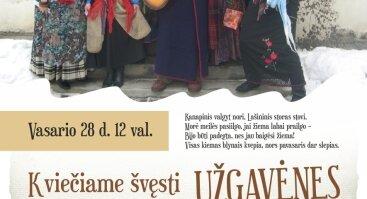 Užgavėnės Lietuvos technikos bibliotekoje