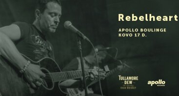 "Nemokamas ""Rebelheart"" koncertas"