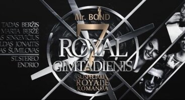 Mr. Bond gimtadienis