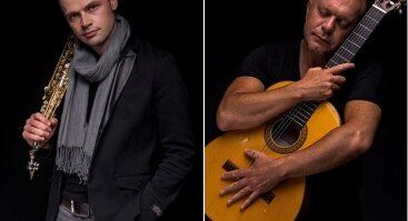 """Hernan Romero ir Kęstučio Vaiginio projektas """"Strings and Air"""""""