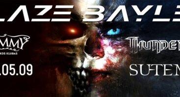 Blaze Bayley World Tour 2017