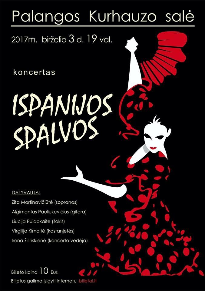 Koncertas Ispanijos spalvos