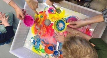 Kūrybinis patyriminis užsiėmimas mažyliui ir mamai