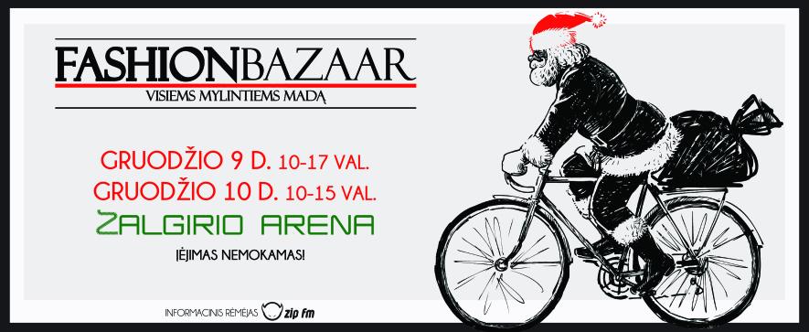 Kalėdinis fashion bazaar Kaune