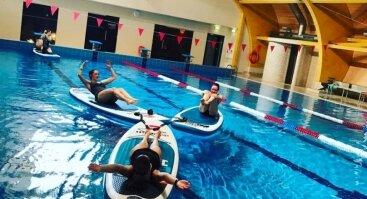 SUP fit - treniruotės ant irklenčių