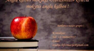 """Atvira ir nemokama anglų kalbos pamoka pradedantiems ir pažengusiems mokykloje """"Horizont"""" !"""