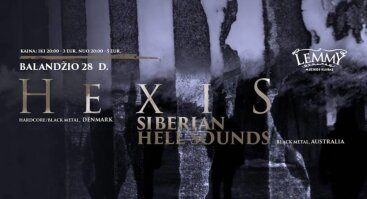 Hexis - Siberian Hell Sounds - Red Water