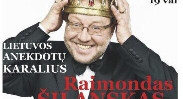Melagių diena su anekdotų karaliumi Raimondu Šilansku