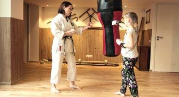 Nemokama kovos menų treniruotė