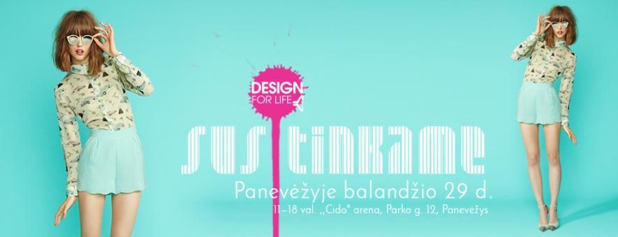 """Mados ir grožio mugė """"Design for life"""""""