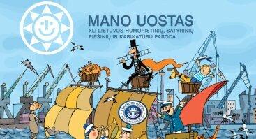 """Humoristinių, satyrinių piešinių ir karikatūrų paroda """"Mano uostas"""""""