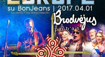 Bon Jovi/ Def Leppard/ Europa by Bon Jeans @Brodvėjus pub