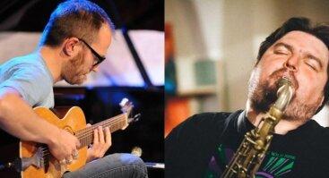 Laisvojo džiazo improvizacija: L. Mockūnas ir D. Stackenäs (SE)