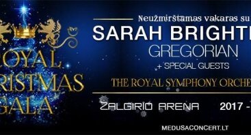 SARAH Brightman ir Gregorian - ROYAL Christmas GALA