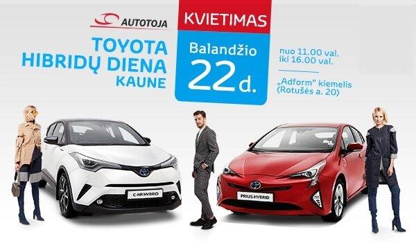 Toyota hibridų diena Kaune