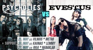 Evestus / PsycHolies - Metro