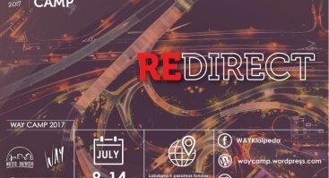 """""""WAY"""" 2017 – REDIRECT - Anglų kalbos krikščioniška stovykla jaunimui"""