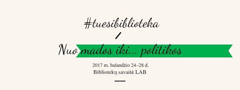 Bibliotekų savaitė Lietuvos aklųjų bibliotekoje