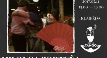 """Išskirtinė """"MILONGA PORTEÑA"""""""