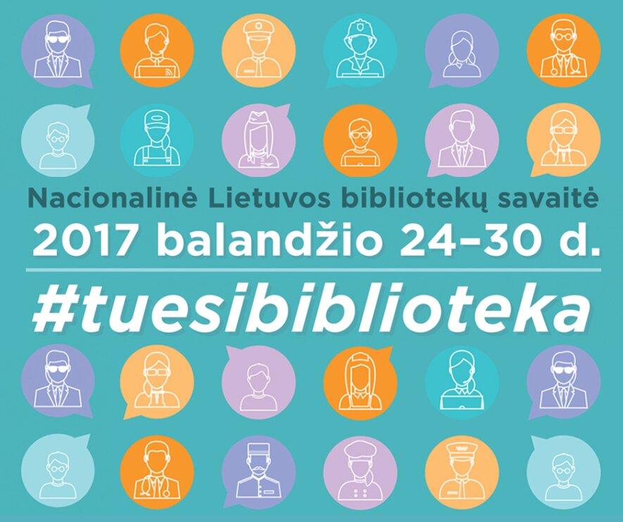 Nacionalinė Lietuvos bibliotekų savaitė Kaune