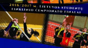 2016 - 2017 m. Lietuvos studentų tinklinio čempionato finalai