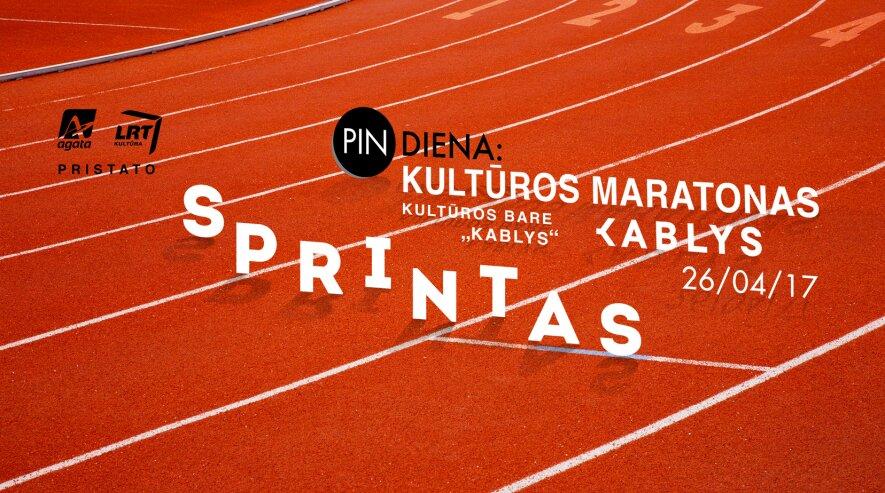 """PIN diena: kultūros maratonas """"Kablys"""""""