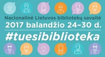 Nacionalinės bibliotekų savaitės atidarymas