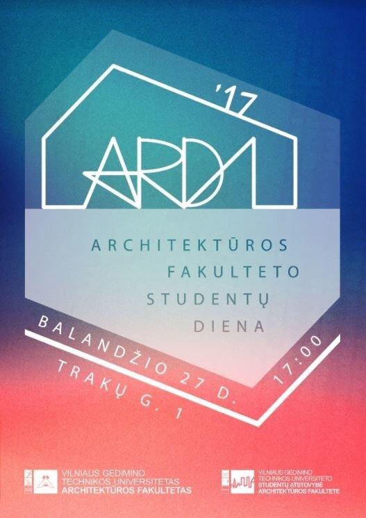 Architektūros fakulteto studentų dienos - ARDI