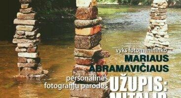 """Mariaus Abramavičiaus (Neboisia) fotografijų paroda """"Užupis: mitai ir realybė"""""""