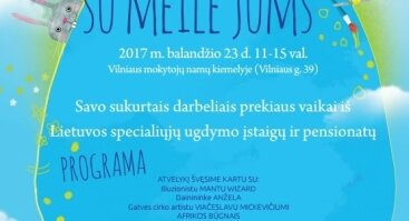 """ATVELYKIO ŠVENTĖ - MUGĖ """"ANGELŲ VAIKAI – SU MEILE JUMS"""""""
