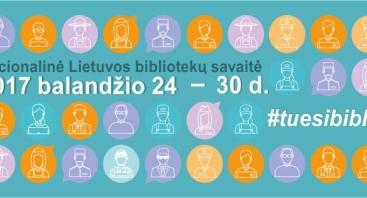 Nacionalinė Lietuvos bibliotekų savaitė Šiaulių apskrities P. Višinskio bibliotekoje