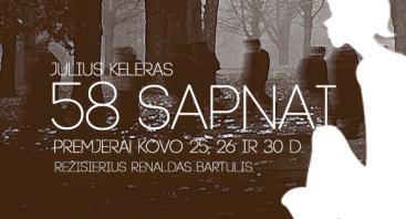 Spektaklis 58 SAPNAI