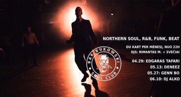 Bukowski Soul Club su Edgaru Tafari ir Rimantu M.
