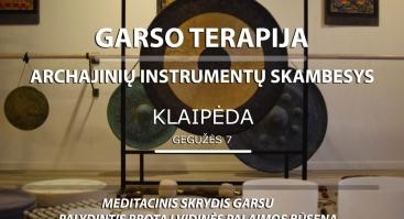 Garso Terapija Klaipėdoje