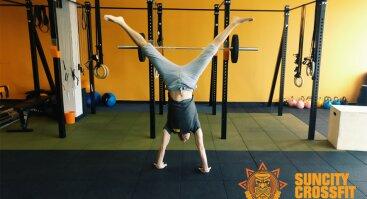 Handstand - stovėjimo ant rankų workshop'as