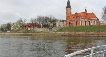 """Pasiplaukiojimas laivu """"Kaunas""""  Nemuno ir Neries upėmis"""