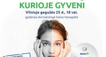 """""""BENU akademija"""" pristato: apsaugok odą, kurioje gyveni"""
