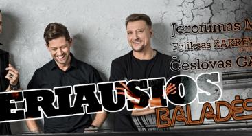 Jeronimas MILIUS ir Česlovas GABALIS: GERIAUSIOS BALADĖS